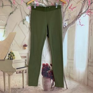 J Crew Any day Pixie Pant In Olive Green